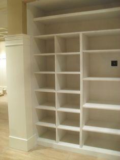 Future built in shelf closet