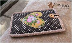 Лоскутное шитье (пэчворк) для самых начинающих: шьем чехол для телефона своими руками.