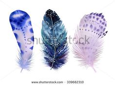 Image result for painted feathers