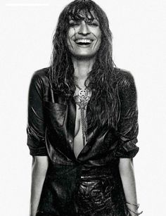 Elle Spain Aug 2014 | Caroline de Maigret by Xavi Gordo