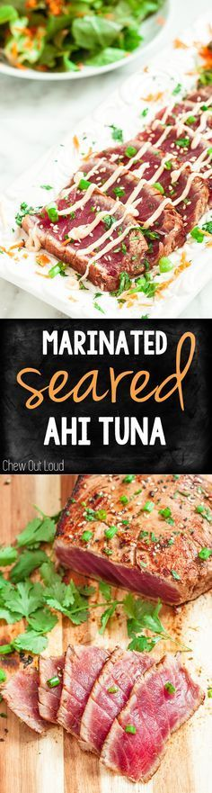 Here's the most amazing seared ahi you can make at home! So easy, healthy, and delicious as an appetizer or light dinner!