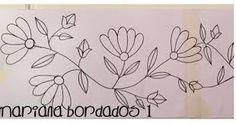 Resultado de imagen para patrones para bordar en lana Embroidery Hoop Crafts, Mexican Embroidery, Embroidery Flowers Pattern, Hand Embroidery Stitches, Crewel Embroidery, Hand Embroidery Designs, Applique Patterns, Hand Quilting, Applique Designs