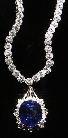Sapphire Necklace  by Philosopher Queen, via Flickr