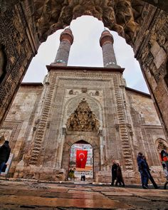 Çifte Minareli Medrese / Sivas © Osman Yılmaz. (Kaynak: Facebook - Photography TÜRKİYE) #turkey #türkiye #sivas #madrasa #medrese #twinminaretmadrasa #çifteminarelimedrese
