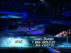 ▶ James Durbin - Without You (First Song) - Top 5 - American Idol 2011 - 05/04/11 - YouTube