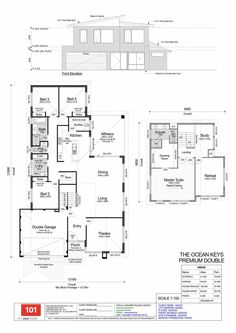 Catalina Estate – Clarkson floorplan