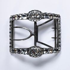 Shoe buckle  Date: ca. 1780s (made)