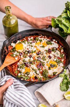 Shakshuka Eggs in Tomato Sauce