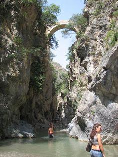 Le Gole del raganello, Civita, provence of Cosenza, Calabria, Italy