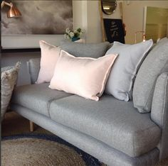Our gorgeous sofas are made in Melbourne. loads of beautiful fabrics available. #thebanyantreefurniture #furniture #sofas #rugs #madeinmelbourne #camberwell #Melbourne #rugs #armadilloandco #linen #cushions #art #prints #homewares