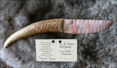 Knives, Stone Blade Knives, Flintknapped, Custom Knives : Knappin' Jack