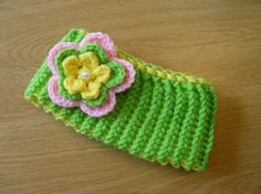 Knit Baby Headband Ear Warmer with Removable by disliltreasures, $15.95