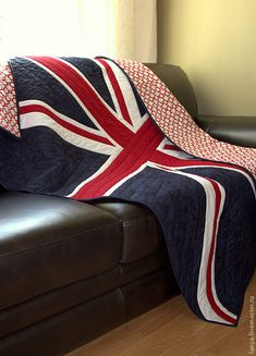 Union Jack quilt plaid