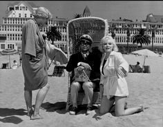 "Jack Lemmon, Tony Curtis and Marilyn Monroe in ""Some Like it Hot"" (1959)"