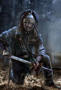 Another version of a Celtic Warrior from Video Game Total War Arena.