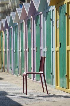 Nassau | Marc Sadler  Air moulded polypropylene chair.