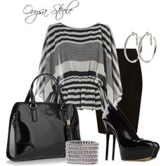 Day to Night by orysa on Polyvore featuring Jane Norman, Coast, Casadei, J by Jasper Conran, Philippe Audibert, Folli Follie and styled by orysa