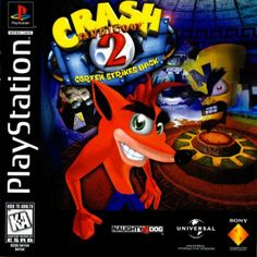Crash Bandicoot 2 for the playstation
