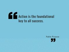It is important to have goals but without action they will not come to fruition.