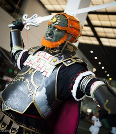 Ganondorff cosplayer at AX 2011 Day 2 by LJinto