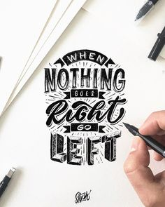 Most popular lettering and typography styles with inspiring quotes are here. These beautiful lettering and typography brushes designs are just amazing. Hand Lettering Quotes, Calligraphy Quotes, Creative Lettering, Lettering Styles, Calligraphy Letters, Typography Quotes, Typography Letters, Brush Lettering, Lettering Design