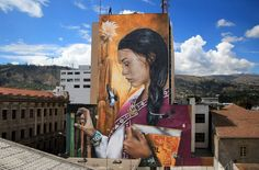 Mantra in Ambato, Ecuador | street art united states