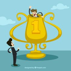 Business Competition Concept Free Vector