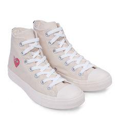 Play Converse All Star High (White) | Footwear | Play | Comme Des Garçons