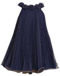 Bonnie Jean TWEEN GIRLS 7-16 Flocked Dots Sunburst Crystal Pleat Mesh Overlay Trapeze Dress (7, Navy) Bonnie Jean,http://www.amazon.com/dp/B00AX2F1IG/ref=cm_sw_r_pi_dp_UVE6qb03ZC25P36T