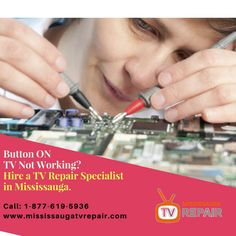 TV Repair Mississauga has all the expertise that clients needs for TV repair and otherelectronic appliances. For over the years they have been serving the people in Mississauga and proud to say that they have given the clients the best service that they deserve.   Call : 905 677-9996 , +905 677-9096