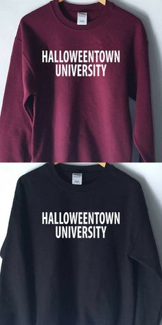 HalloweenTown Movie Sweatshirt, clothing, halloweentown university, style // Halloween #ad