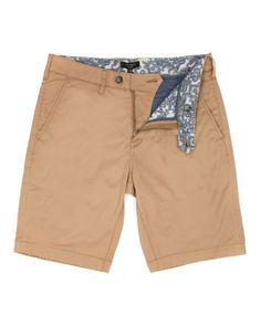 Chino short - Tan | Shorts | Ted Baker