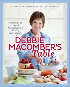 Buy Debbie Macomber's Table: Sharing the Joy of Cooking with Family and Friends: A Cookbook by Debbie Macomber and Read this Book on Kobo's Free Apps. Discover Kobo's Vast Collection of Ebooks and Audiobooks Today - Over 4 Million Titles! Oven Roasted Ribs, Grilled Fish Tacos, Eggnog Cookies, Cilantro Lime Sauce, Cookbook Pdf, Joy Of Cooking, What's Cooking, Debbie Macomber, New Cookbooks