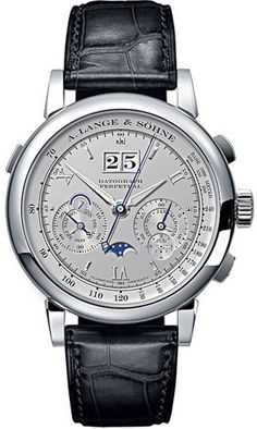 A. Lange & Sohne Datograph Perpetual Mens Watch. List price: $141,400