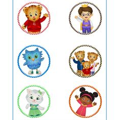 INSTANT DOWNLOAD Daniel Tigers Neighborhood