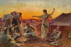 "Otto Pilny(1866-1936). ""Лучшая танцовщица (The best dancer)"". 1913г."