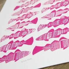fish screen print - Google Search