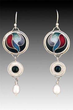 Fine Cloisonne Jewelry by Sheila Beatty