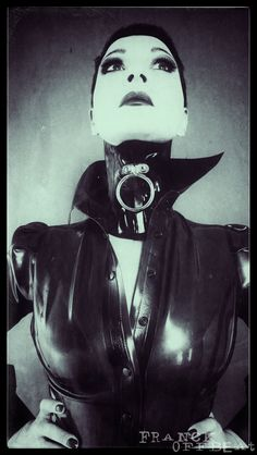058 Fetish Photography artwork FranckOffbeat NikiNiki neck corset