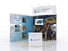 https://flic.kr/p/AvaXG5 | Exhibition stand design for Jordan Airmotive | Exhibition stand design