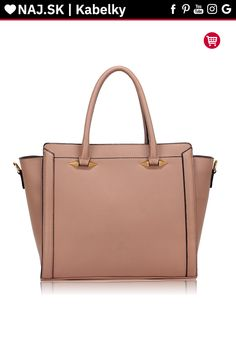 Trendy kabelka do ruky Anastasia telová AG00516 Trendy, Bags, Fashion, Handbags, Moda, Fashion Styles, Fashion Illustrations, Bag, Totes
