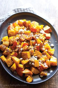 This side dish recipe is wonderfully unique. Serve up a platter of Roasted Kabocha Squash with Balsamic and Feta on your Thanksgiving table for a recipe idea that is sure to get your guests talking.
