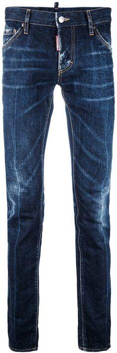 DSQUARED2 denim stonewash slim jeans
