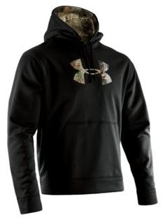 Under Armour® Tackle Twill Hoodies for Men - Long Sleeve | Bass Pro Shops  Black/Realtree AP and size: XL