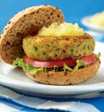 What is sweet, meatless, and nourishing all at the same time? Try this delicious Chickpea Burgers with Pineapple Sauce!