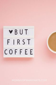 But first coffee! #coffeequotes  MommyOfManyHats.com But First Coffee, Best Coffee, Coffee Beans, Coffee Cups, Best Mom Quotes, Expensive Coffee, Best Beans, Freezer Burn, Coffee Branding
