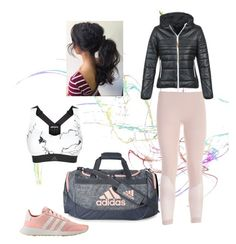 """""""Just do it 💪🏻"""" by clarityon on Polyvore featuring adidas"""