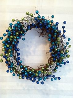 Winter Berry Grapevine Wreath