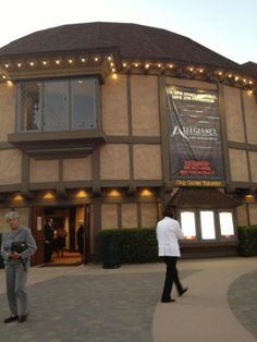 """The Old Globe Theatre has world class performances year round in three distinct venues: The main theatre modeled after Shakespeare's Old Globe in London; the outdoor """"Festival Theatre"""" where the summer Shakespeare Festival is held; and the intimate White Theatre (a small theatre in the round with only 5 rows of seating - you are so close, you feel part of the performance)."""