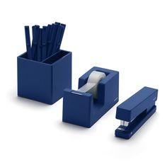 Amazon.com : Desktop Starter Set, Mint (Stapler, Tape Dispenser, Pens, Pen Cup) : Office Products